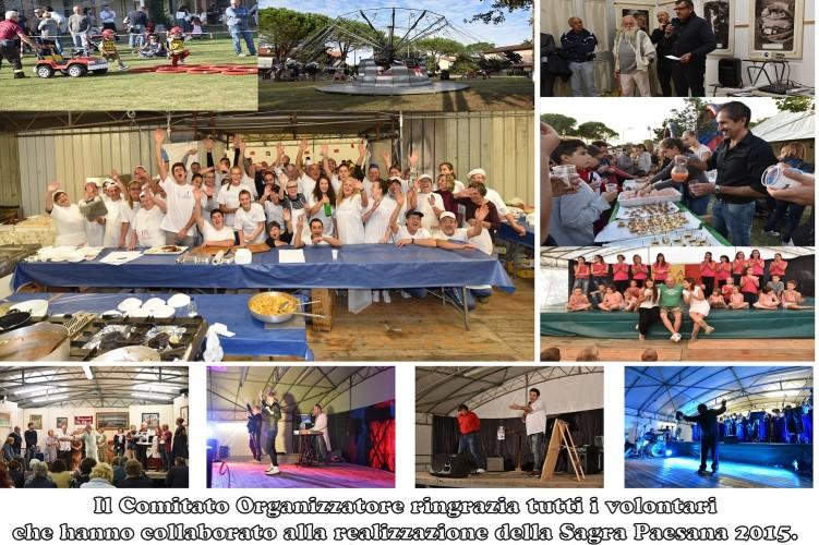 Sagra Paesana 2015 – i Ringraziamenti del Comitato