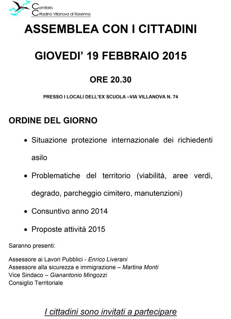assemblea 19 febbraio 2015 volantino